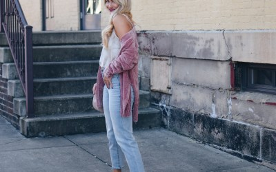FALL STAPLE: CHENILLE CARDIGAN