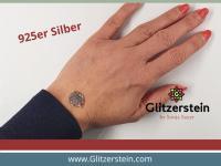 Schmuckverbinder Mandala 925 Silber (Variante 1)