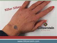 Schmuckverbinder Lotusbluete 925 Silber (Variante 1)