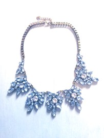 Princess bling statement necklace $25