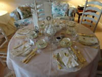 Table Setting For High Tea & Aimee Provence High Tea Table ...