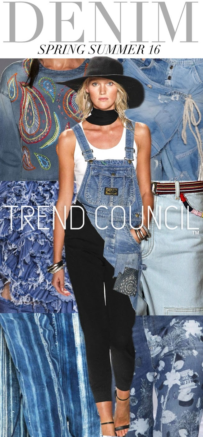 FASHION VIGNETTE: TRENDS // TREND COUNCIL . SS 2016 DETAILS + DENIM