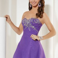 2015 Homecoming Dresses Sweetheart A Line With Beading And Ruffles Short - Wegodress.com