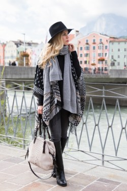 Cashmere scarf & Riding boots @Meagansmoda
