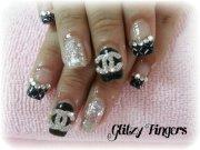 glitzy fingers customise