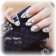 rock glitzy fingers
