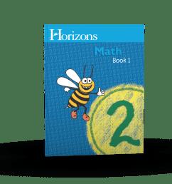 Horizons 2nd Grade Math Student Book 1 - AOP Homeschooling [ 1200 x 1200 Pixel ]
