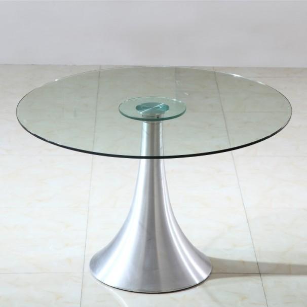 Table En Verre Ronde