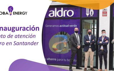 Inaugurado el nuevo punto de atención al cliente de Aldro de la mano de GlobaEnergy