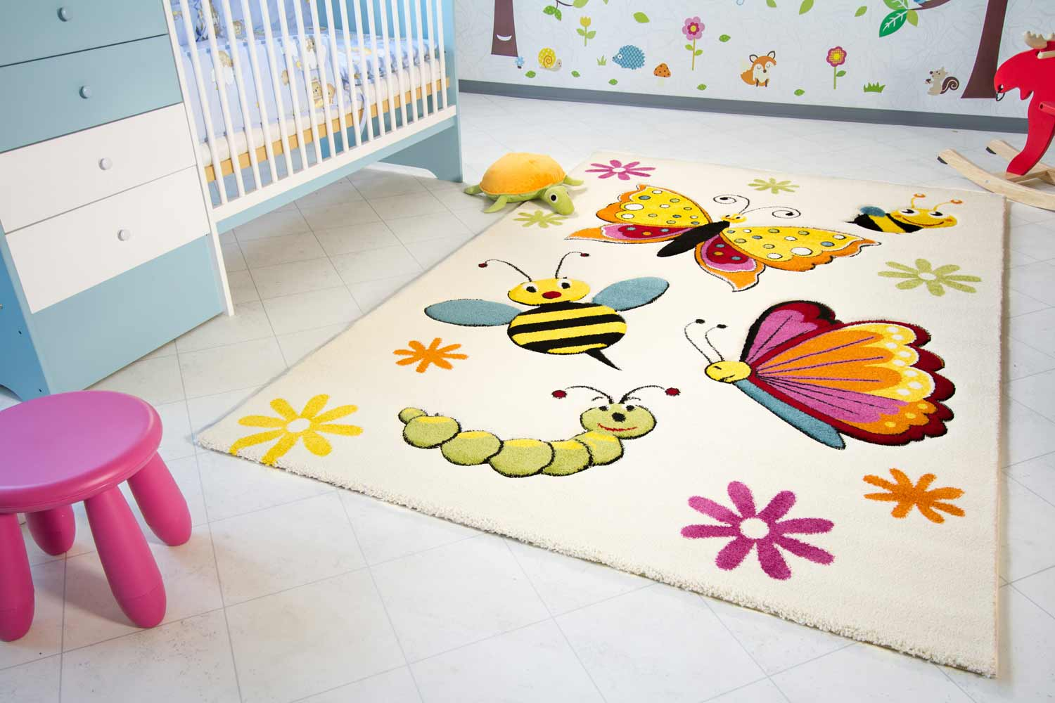 Kinderzimmer Teppich Kinderteppiche Kinderteppich Little Carpet Spring Global Carpet