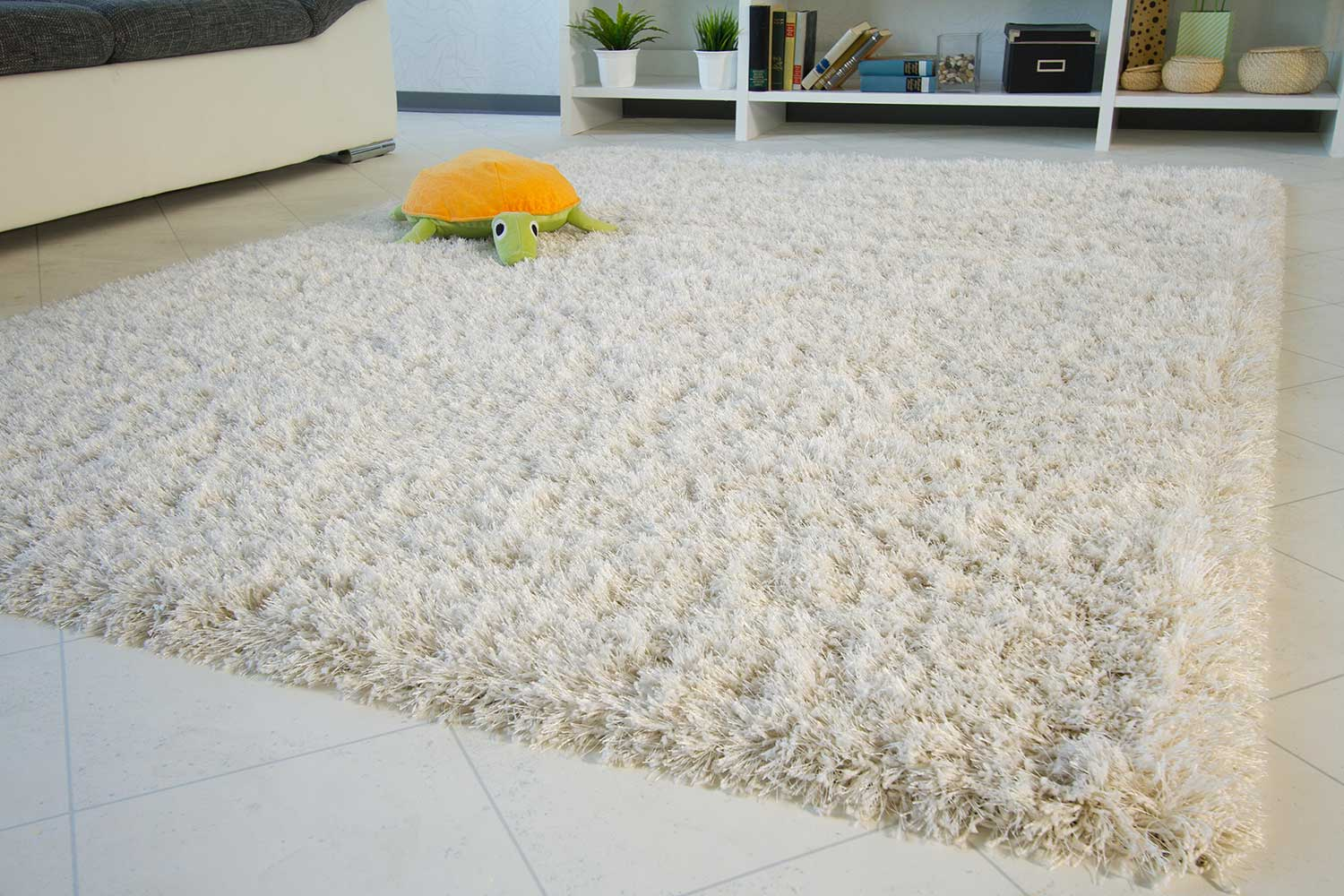 Teppich Shaggy Shine Hochflor Teppich Funny Highline Global Carpet