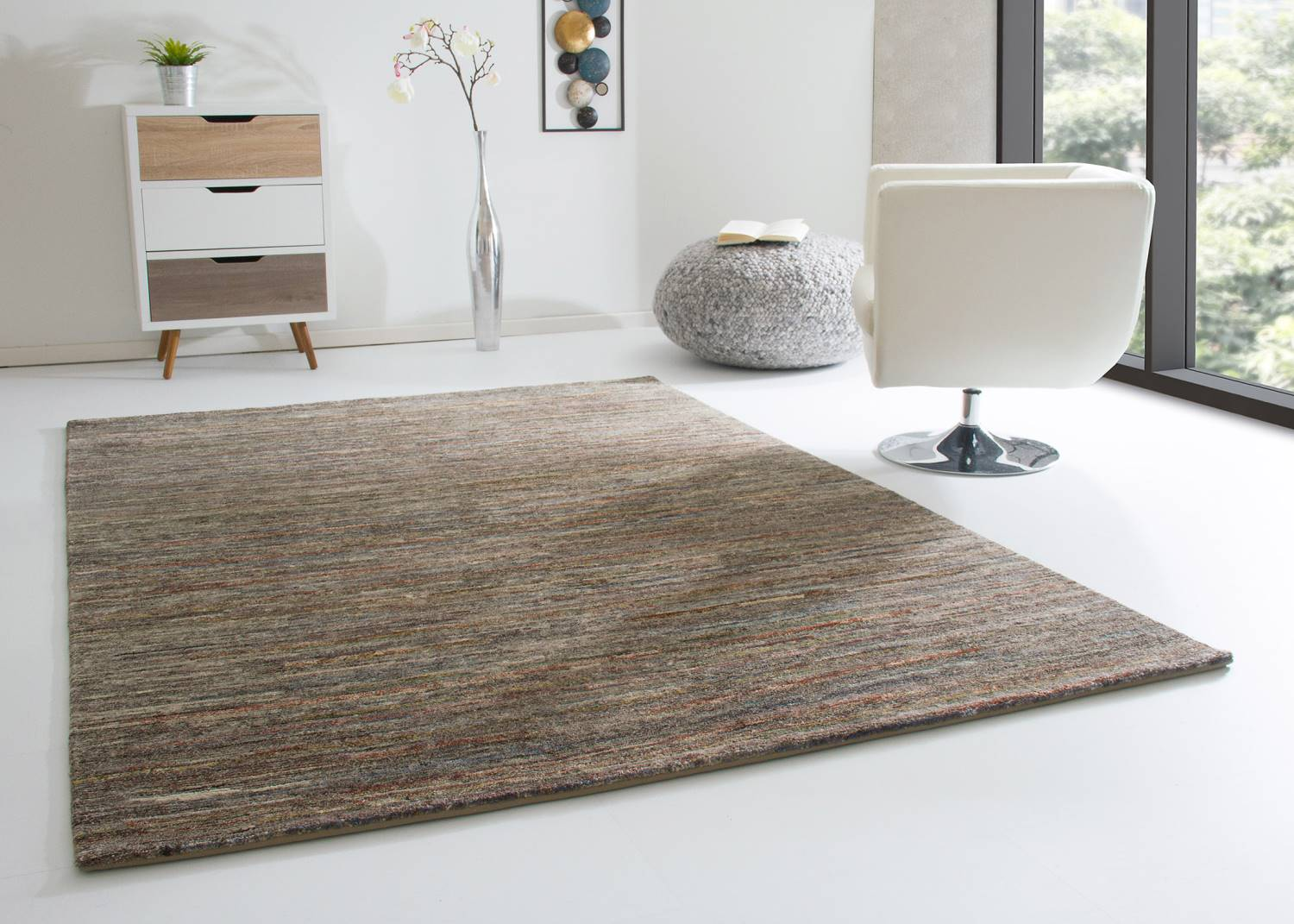 Flokati Teppich 200x300 Nepal Teppich Sharada Global Carpet