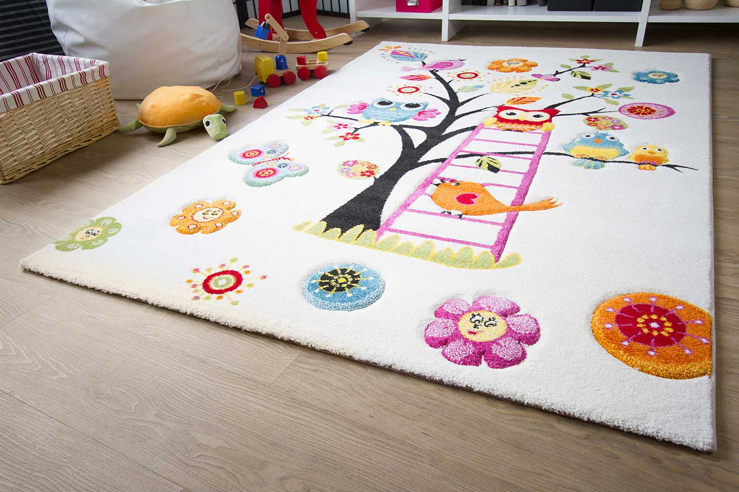 Teppich Pp Kinderzimmer Kinderteppich Modena Kids Tiere On Tour Global Carpet