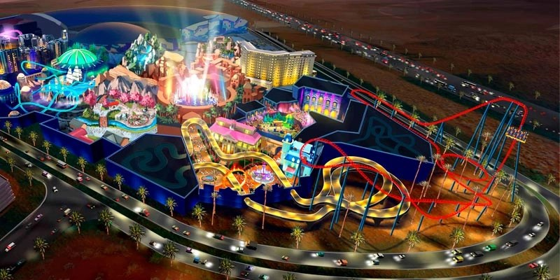 IMG To Build The Worlds Largest Indoor Theme Park In Dubai