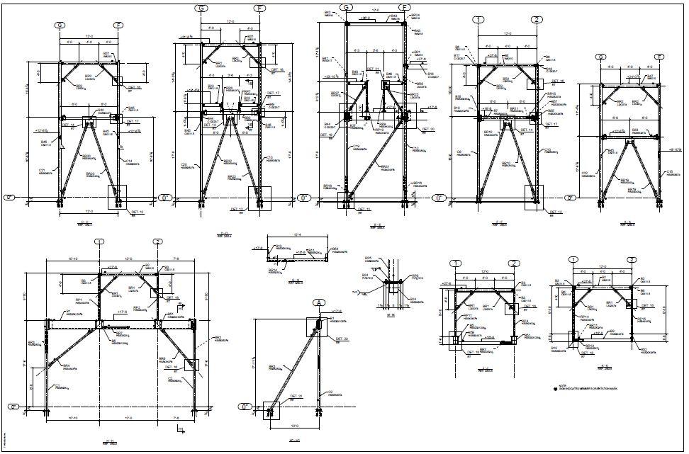 Structural Steel Detailing Services USA- Global-detailing.com
