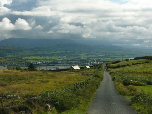 The beautiful Irish countryside