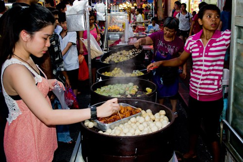 Delicious Jonker Street Night Market Food, Melaka, Malaysia