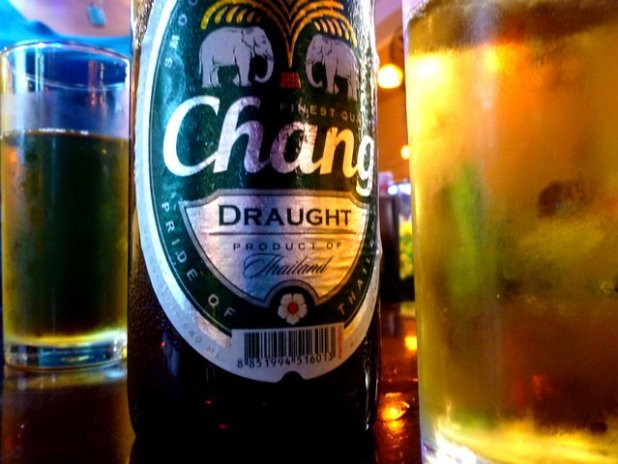 Chang Beer in Thailand