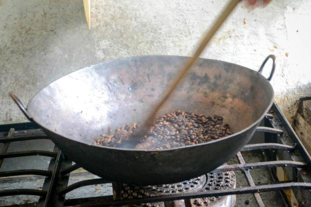 Roasting the Beans