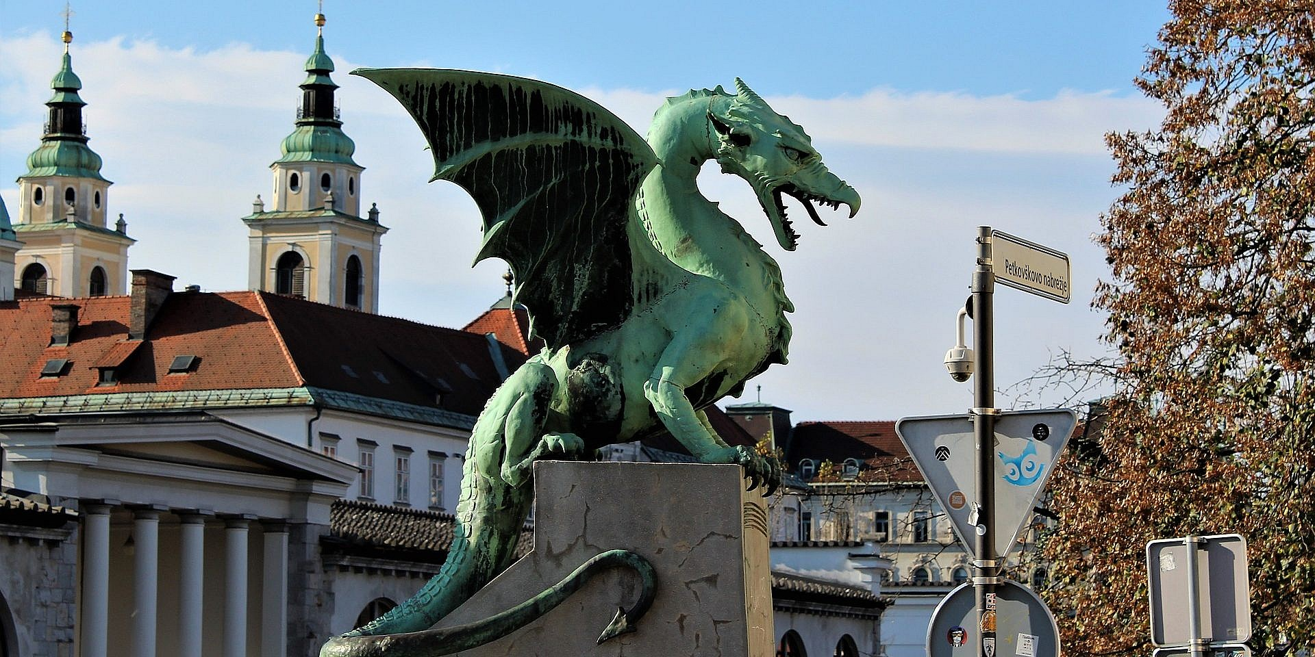 Fall in Ljove with Ljubljana:  A Guide to the Slovenian Capital