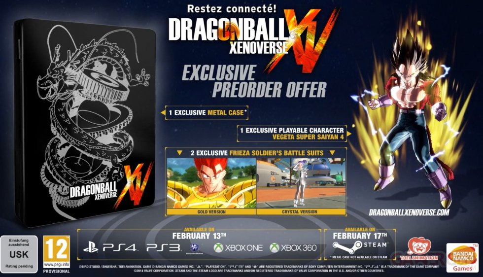 Dragon Ball Xenoverse collector bonus precommande 23.10.2014  (8)