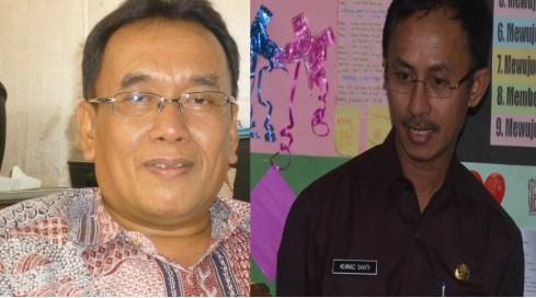 GN/MASDAWI DAHLAN Ach Syaifuddin (kiri) dan Ach Syafii (kanan)