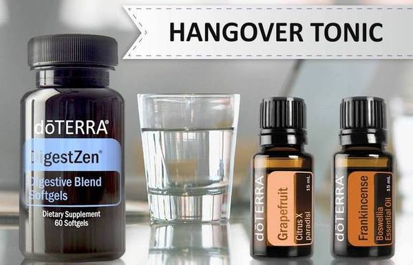 Doterra oils for hangover