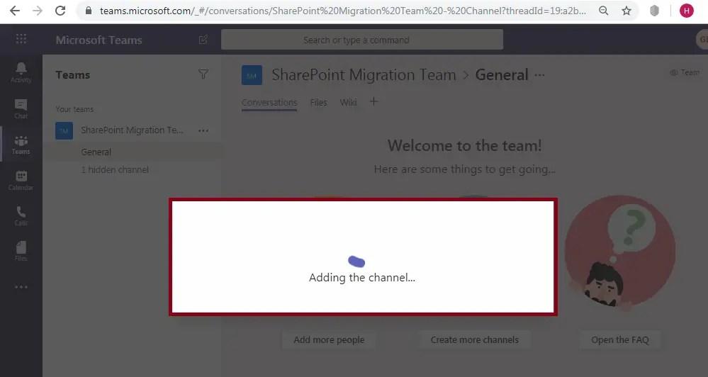 Microsoft Teams-Channel-SharePoint Integration