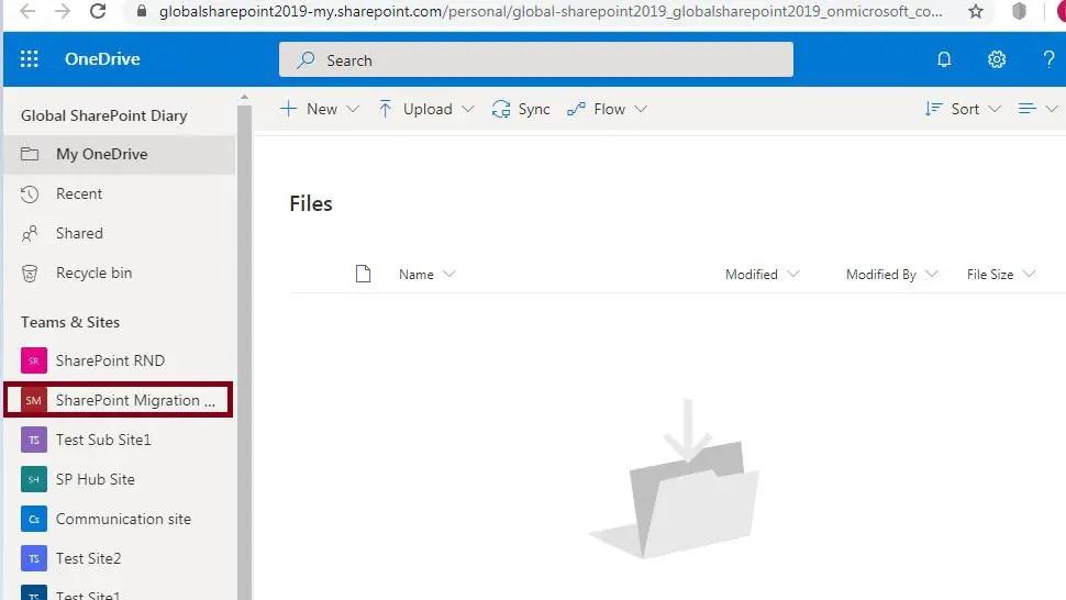 Microsoft Teams - OneDrive