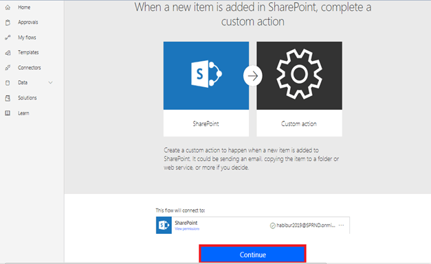 When a new item is added in SharePoint, complete a custom action continue - How To Create And Format HTML