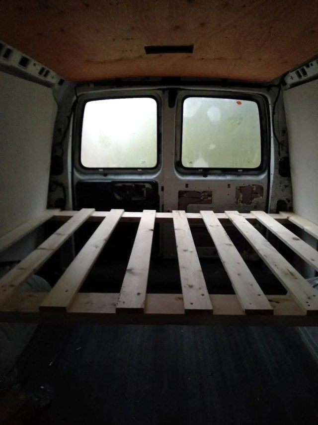 simple van conversion Chevrolet
