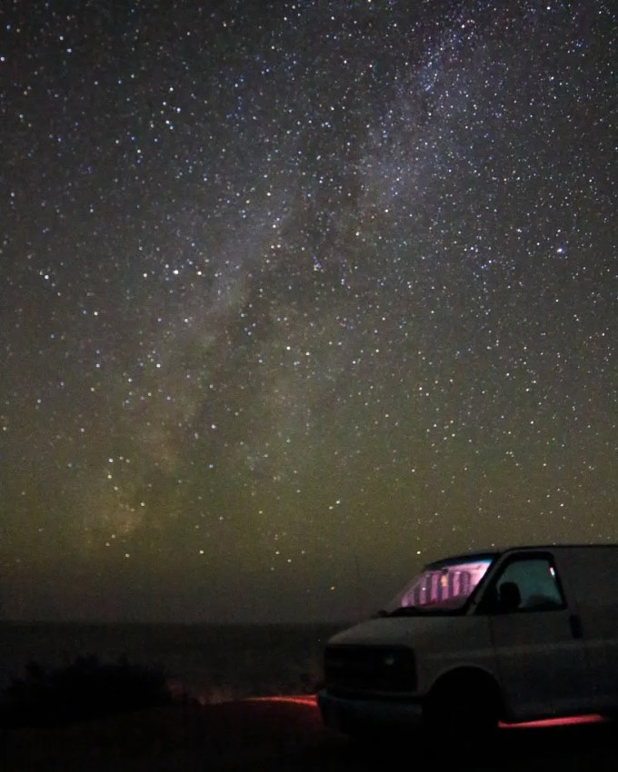 guide to road trips and van life