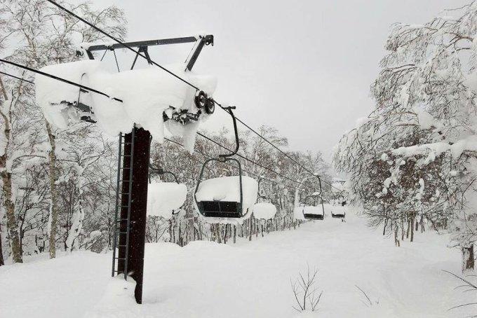 Japan ski season