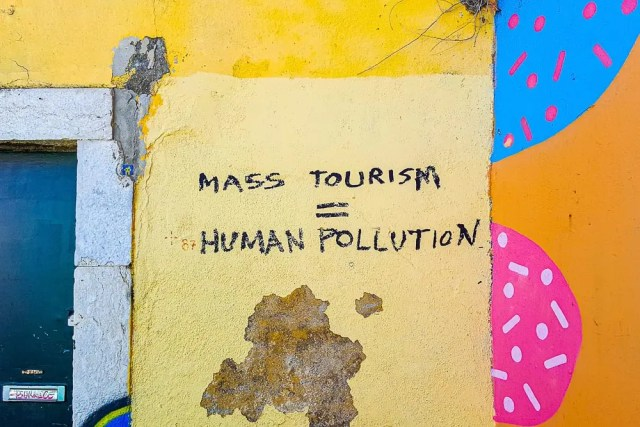 avoid over tourism for sustainable travel