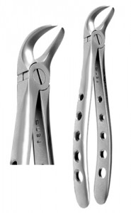 Lower Cowhorn, Atraumatic X-TRAC forceps - 2300