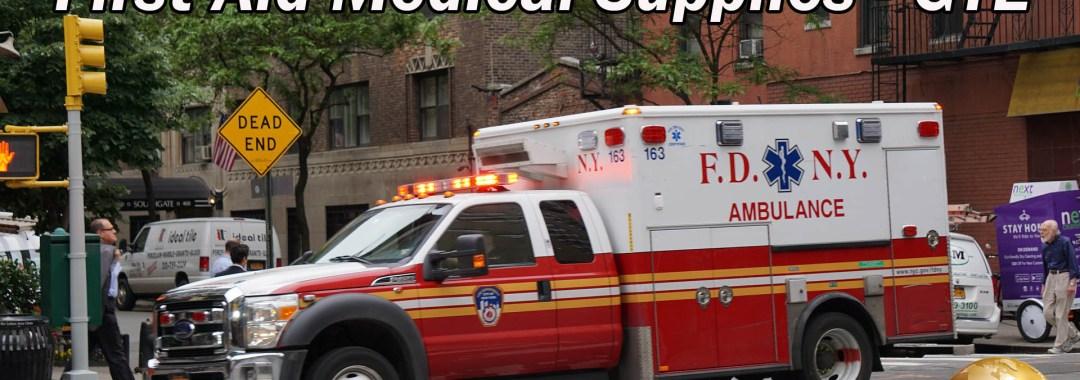 First Aid Medical Supplies