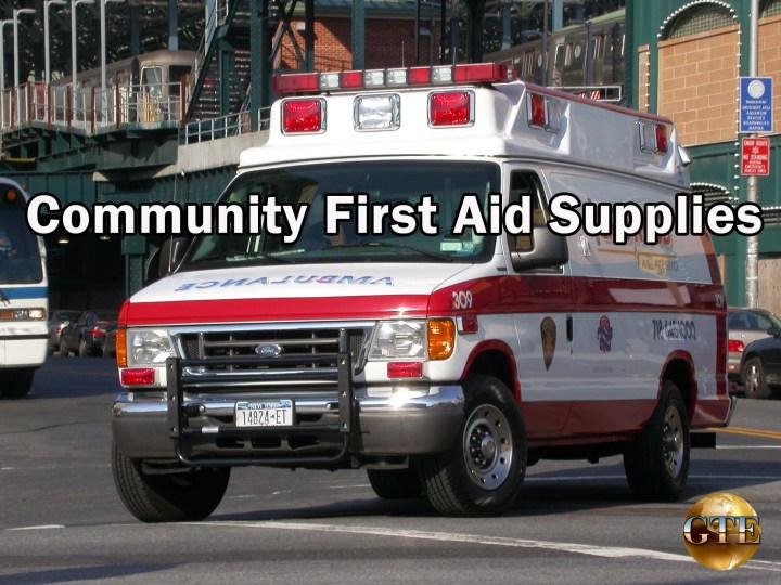 Community EMS Supplies - City and Municipal EMS Supplies
