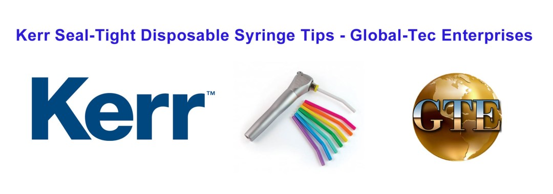 Kerr Seal-Tight Disposable Syringe Tips
