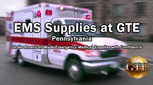 EMS Supplies - Pennsylvania