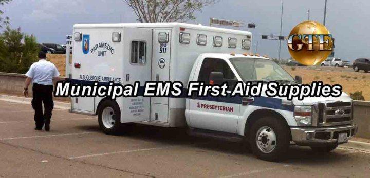 Municipal EMS First Aid Supplies