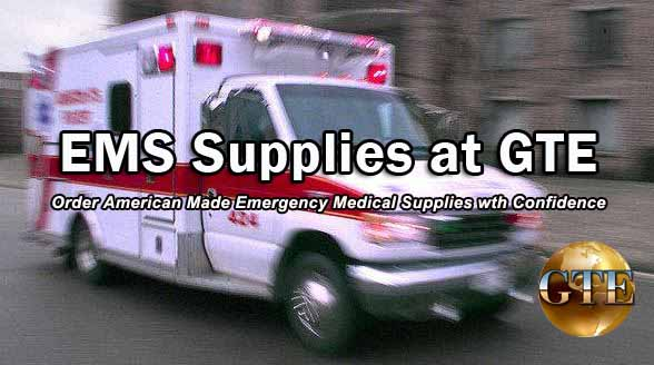 EMS Supplies for First Responders