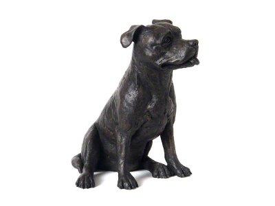 Staffordshire Bull Terrier Urn