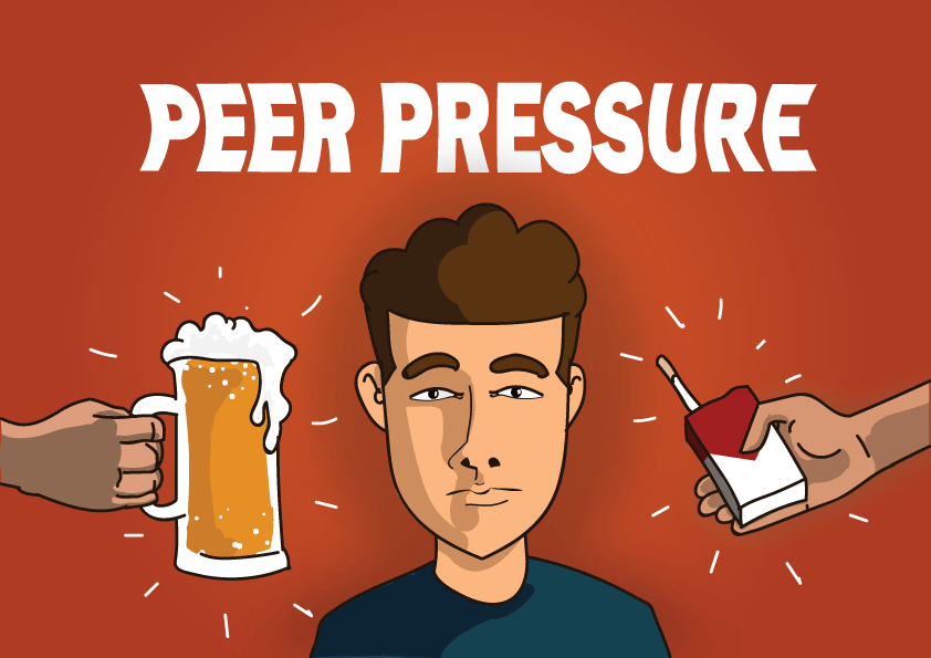 How Peer Pressure is a gateway to Addiction