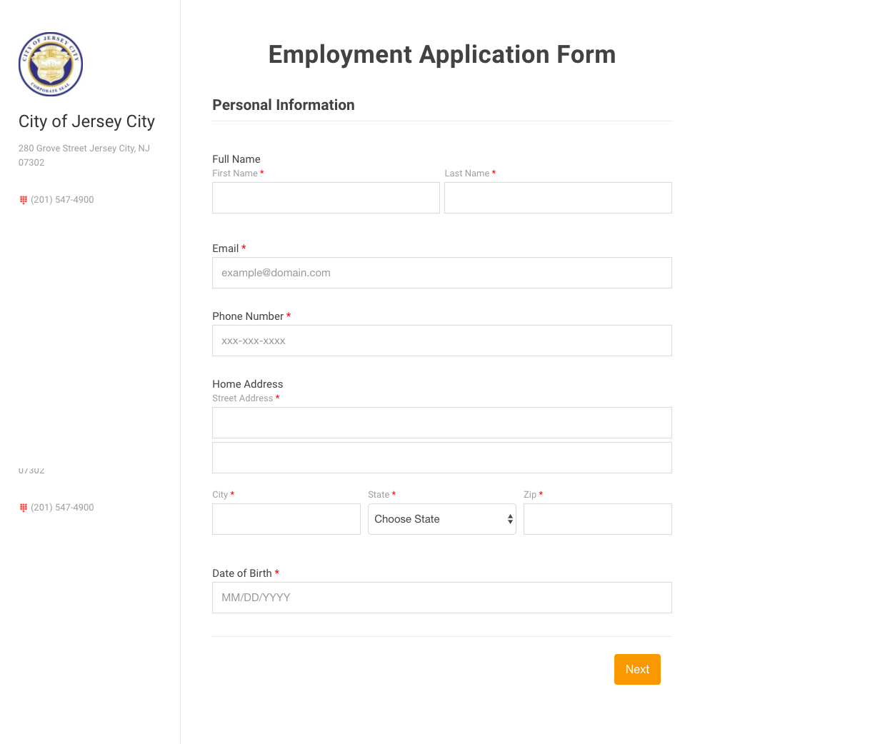 Note: These Forms Are Public. Please Do Not Press Submit.