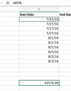 Copy into  cell and format that as number rather than date excel stores numbers you can see translates to also how make gantt chart in minutes or less teamgantt rh
