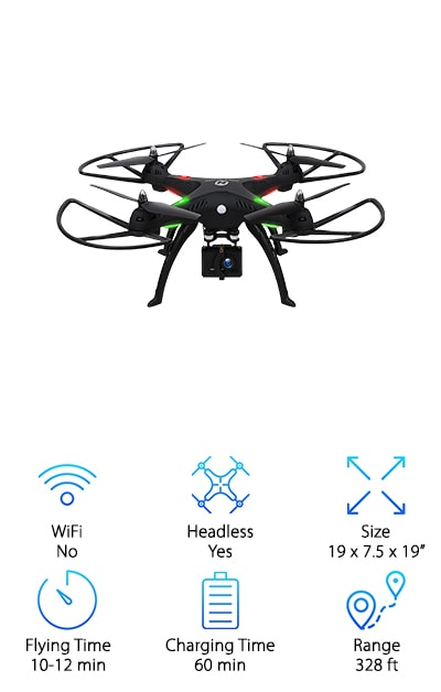 10 Best Drones for Filming and Photography 2019 [Buying