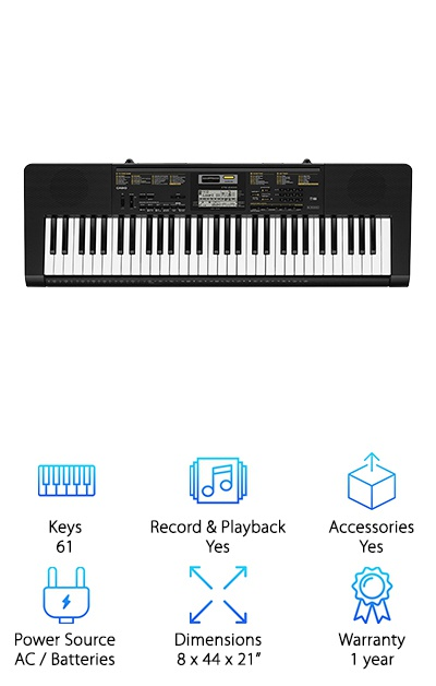 10 Best Piano Keyboards for Beginners 2019 [Buying Guide