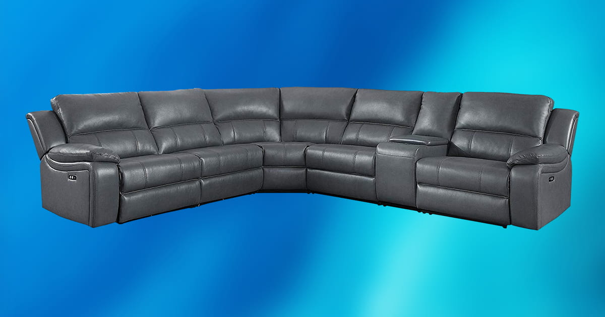 Luckily, it's easy to keep leather clean, as these tips show. 10 Best Gray Leather Sectional Sofas 2020 [Buying Guide ...