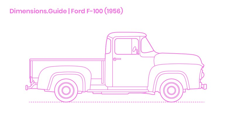 1956 Ford F100 Interior Parts