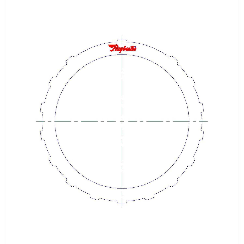 RE5R05A, A5SR1 B2 Low Coast Steel Clutch Plate